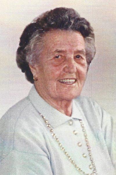 1.Vorstand Anna Rötzer 1958-1983